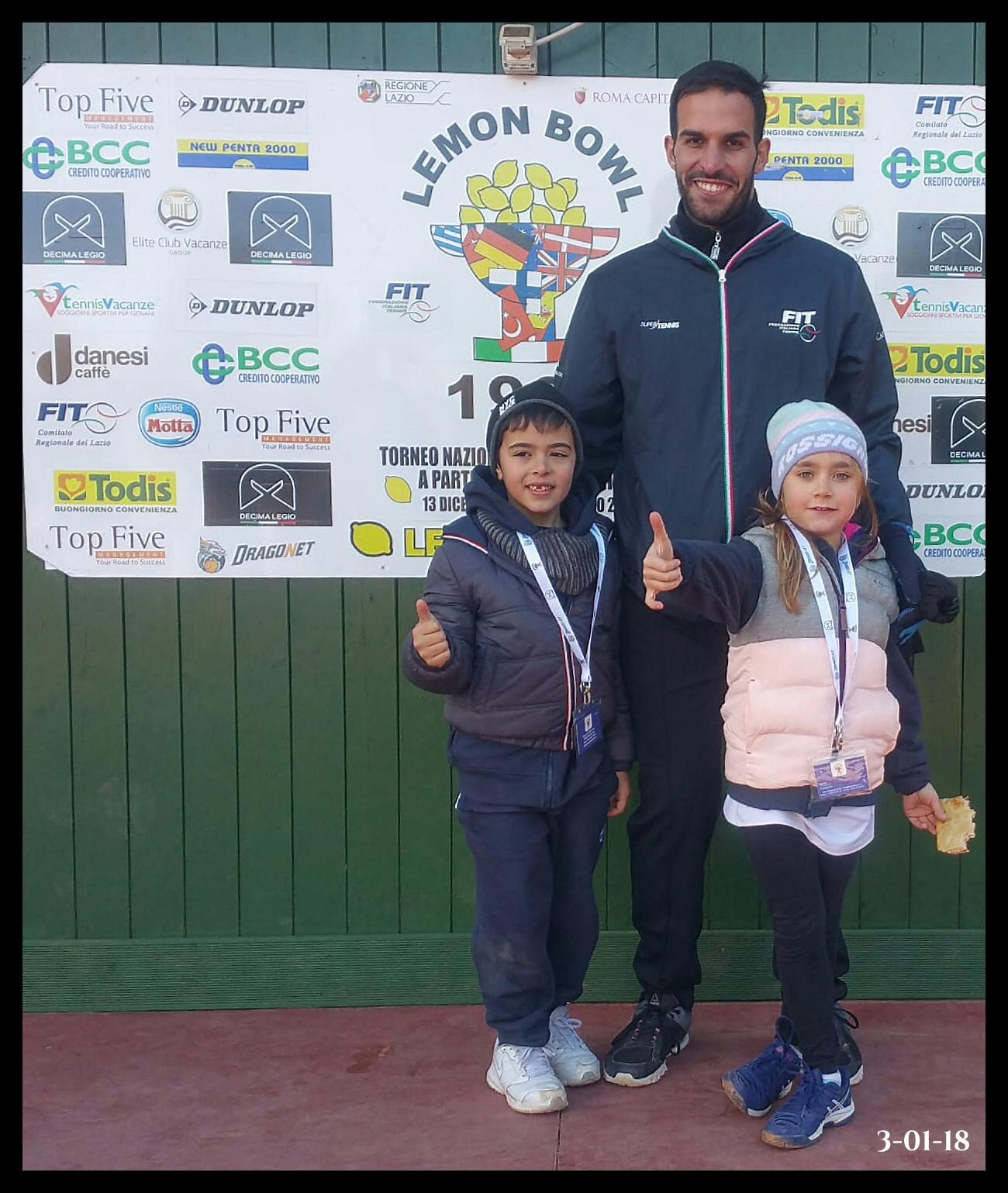 CT Gaeta protagonista al Lemon Bowl